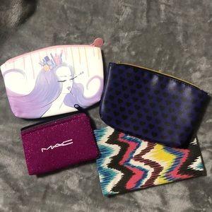 Woman's makeup bags